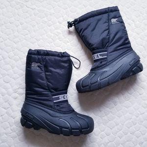 Sorel winter boots snow warm waterproof girls boys